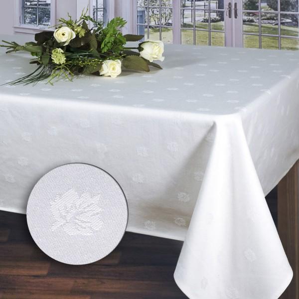 Скатерть Schaefer, прямоугольная, цвет: белый, 130x190 см. 07362-43407362-434Великолепная скатерть Schaefer прямоугольной формы, выполненная из полиэстера, органично впишется в интерьер любого помещения, а оригинальный дизайн удовлетворит даже самый изысканный вкус. Скатерть изготовлена из хлопка белого цвета, жаккардовый рисунок настолько не броский, что делает эту вещь изысканной и очень нежной и обладает жироводооталкивающими свойствами. Это текстильное изделие станет удобным и оригинальным украшением вашего дома!