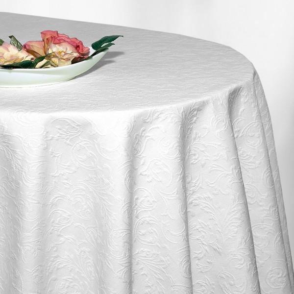 Скатерть Schaefer, прямоугольная, цвет: белый, 140 x 190 см. 4127/FB4127/FB.01-140*190Прямоугольная скатерть Schaefer выполнена из полиэстера белого цвета. Скатерть обладает жироотталкивающими свойствами. Использование такой скатерти сделает застолье более торжественным, поднимет настроение гостей и приятно удивит их вашим изысканным вкусом. Также вы можете использовать эту скатерть для повседневной трапезы, превратив каждый прием пищи в волшебный праздник и веселье.