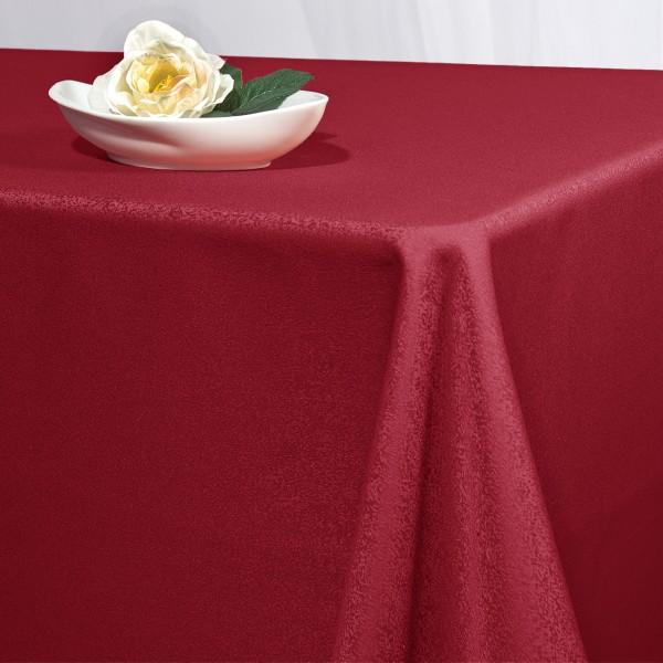 Скатерть Schaefer, прямоугольная, цвет: красный, 130 x 220 см. 41704170/FB.04-130*220Великолепная скатерть Schaefer, выполненная из полиэстера, органично впишется в интерьер любого помещения, а оригинальный дизайн удовлетворит даже самый изысканный вкус. Скатерть изготовлена из материала красного цвета с орнаментом и обладает жироводооталкивающими свойствами. Это текстильное изделие станет удобным и оригинальным украшением вашего дома! Характеристики: Материал: 100% полиэстер. Размер: 130 см х 220 см. Цвет: красный.