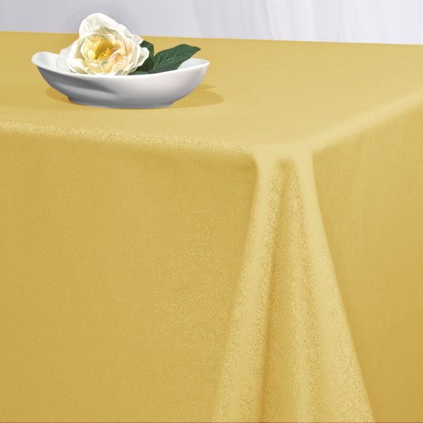 Скатерть Schaefer, прямоугольная, цвет: желтый, 150 x 250 см. 41704170/FB.05-150*250Прямоугольная скатерть Schaefer выполнена из полиэстера желтого цвета. Скатерть обладает жироотталкивающими свойствами. Использование такой скатерти сделает застолье более торжественным, поднимет настроение гостей и приятно удивит их вашим изысканным вкусом. Также вы можете использовать эту скатерть для повседневной трапезы, превратив каждый прием пищи в волшебный праздник и веселье.