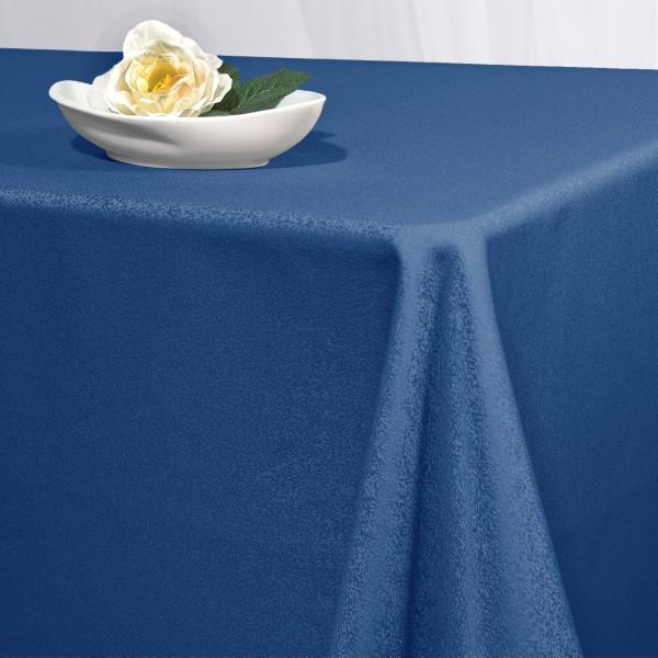 Скатерть Schaefer, прямоугольная, цвет: синий, 150 x 250 см. 4170/FB4170/FB.13-150*250Прямоугольная скатерть Schaefer выполнена из полиэстера синего цвета. Скатерть обладает жироотталкивающими свойствами. Использование такой скатерти сделает застолье более торжественным, поднимет настроение гостей и приятно удивит их вашим изысканным вкусом. Также вы можете использовать эту скатерть для повседневной трапезы, превратив каждый прием пищи в волшебный праздник и веселье.