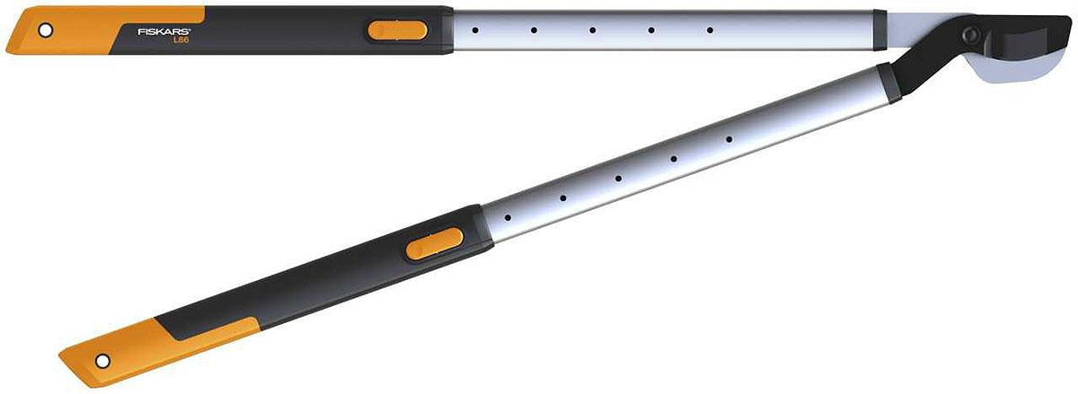 Сучкорез телескопический Fiskars, 66,5-91,5 см112500Линейка режущих инструментов Fiskars SmartFit - удобное дополнение к вашему набору садового инвентаря. С помощью телескопического сучкореза, ножниц для живой изгороди и плоскостного секатора вы можете выполнять все основные операции по обрезке вашего сада. Регулируемая длина ручек гарантирует оптимальный рабочий диапазон. Легкий сучкорез, комфортно лежит в руках. Подходит для обрезки как ветвей плодовых деревьев, так и низкорослых кустарников
