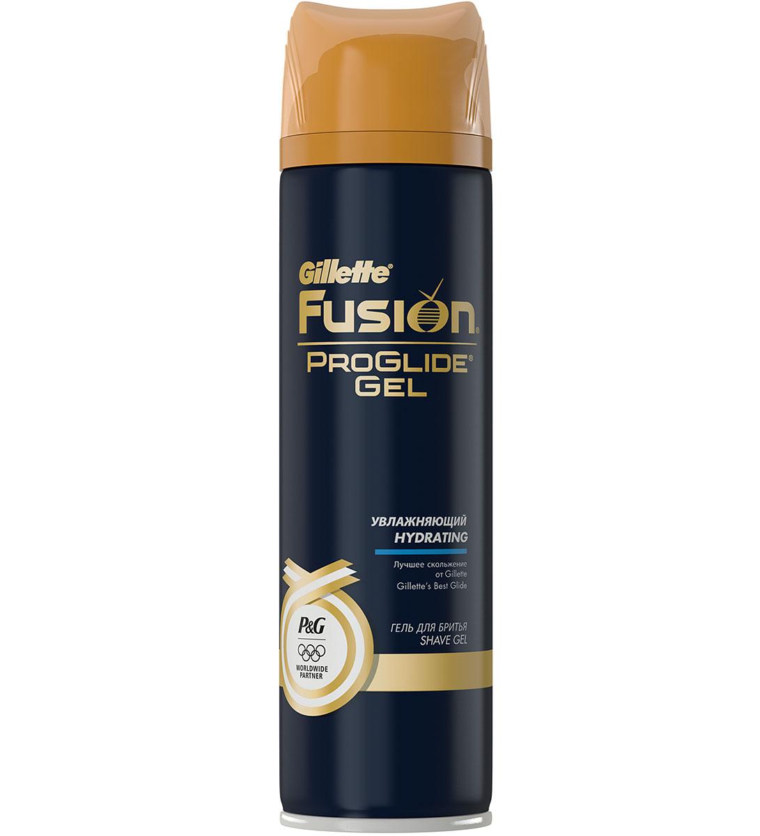 Gillette Гель для бритья Fusion ProGlide, увлажняющий, 200 млGIL-81375524Формула геля Gillette Fusion ProGlide с маслом ши и глицерином, помогает сохранить вашу кожу увлажненной во время бритья и уменьшить ощущение и признаки раздражения после бритья. Все гели Fusion ProGlide производятся с повышенным количеством смазывающих компонентов, обеспечивающих лучшее скольжение бритвы и отличный результат бритья.