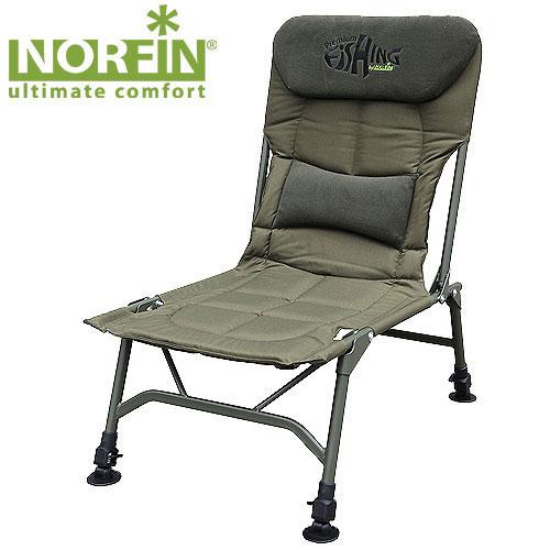 Кресло карповое Norfin Salford NFNF-20602Кресло складное Norfin Salford NF, самое легкое из всех рыболовных кресел. Отсутствие подлокотников не будет сковывать движения и облегчит доступ к снастям и прикормке. Все 4 ножки с возможностью независимой регулировки высоты. Характеристики: Материал: полиэстер, алюминий. Размер кресла: 51,5 см х 55 см х 34,5 см/86 см. Размер кресла в сложенном виде: 77 см х 18 см х 58 см. Максимальная нагрузка: 140 кг. Диаметр трубок каркаса: 2,2 см.