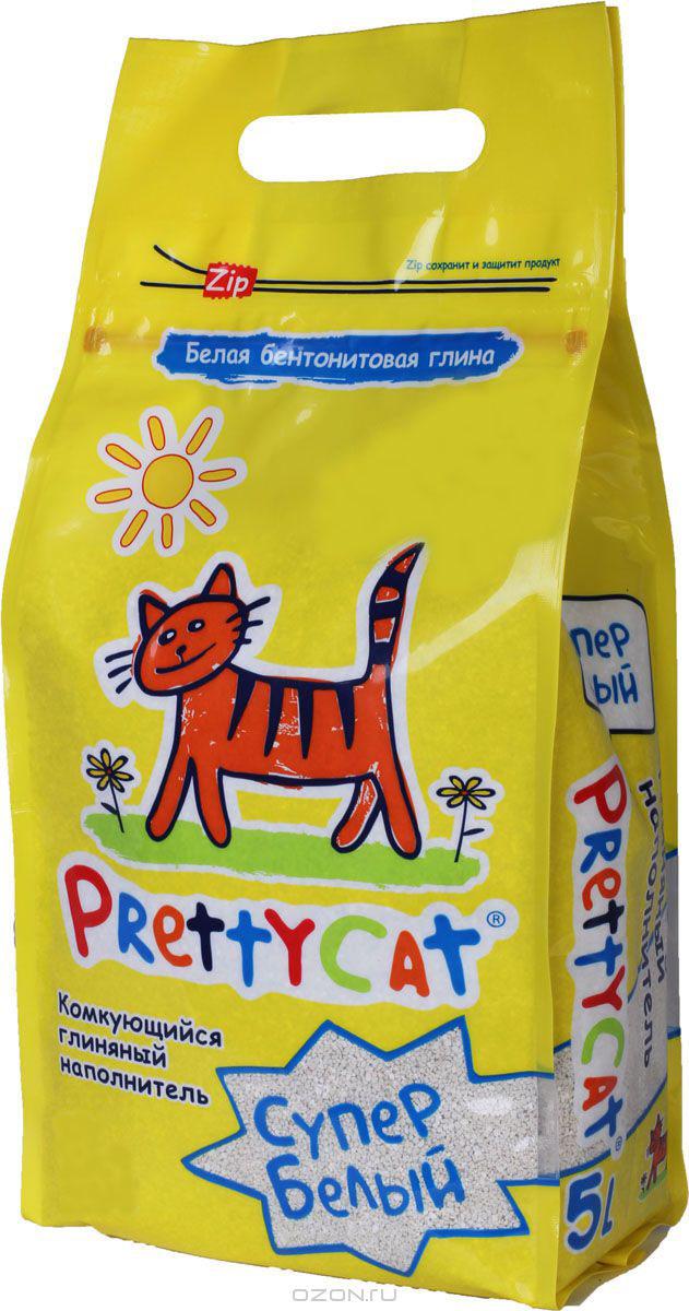Наполнитель для кошачьих туалетов PrettyCat Супер белый, комкующийся, 2 кг. 620048620048Наполнитель для кошачьих туалетов PrettyCat Супер белый - это 100% натуральный комкующийся наполнитель. Изготовлен из белой бентонитовой глины, лучшего европейского качества. Впитывает до 400% влаги, прекрасно комкается в идеально ровные шарики. Уничтожает запахи и обеспечивает двойное обеспыливание. Материал: белая бентонитовая глина. Вес: 2 кг. Диаметр гранул: 0,6 - 1,7 мм.