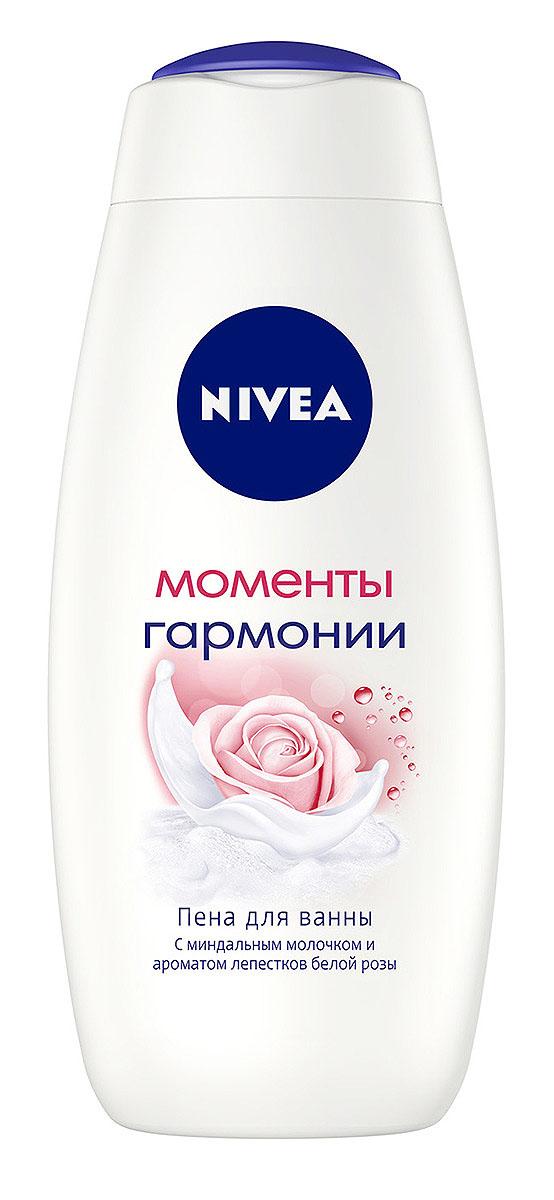 Nivea Пена для ванны Моменты Гармонии, 500 мл