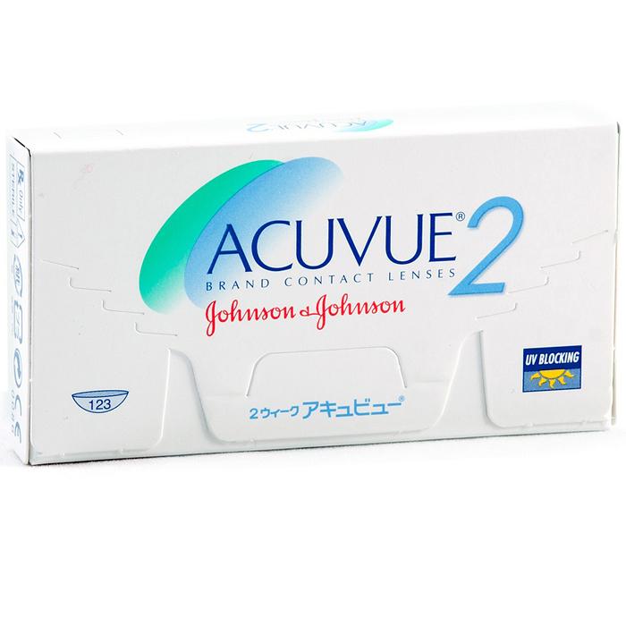 Johnson & Johnson контактные линзы Acuvue 2 (6шт / 8.3 / -0.75)06941Контактные линзы Acuvue 2 выпускают уже на протяжении многих лет, а их популярность можно объяснить высоким комфортом ношения. Мягкие гидрогелевые линзы изготавливают, используя материал этафилкон А, и применяя способ полимеризации. Этафилкон А наделён гидрофильностью 58% и низким модулем упругости. Эти показатели определяют мягкость контактных линз на глазах. Возможность материала держать воду в процессе применения линз гарантирует гладкость, гибкость и мягкость линз. По толщине Acuvue 2 всего 0,07 мм (при оптической величине в 3 диоптрии). Внутренний радиус линз при отрицательной величине равняется 8,7 или 8,3 мм. А линза Acuvue 2 (если положительная оптическая величина) имеет радиус по внутренней стороне 8,7 мм. Кроме этого, линзы защитят глаза от УФ облучения, способного вызвать такие заболевания, как катаракта (или дистрофия сетчатки). Показатель степени поглощения UVA равен 70%. Режим применения линз - дневное время. Контактная линза Acuvue 2 отлично...
