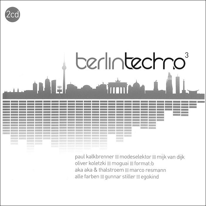 Berlin Techno 3 (2 CD) 2013 2 Audio CD