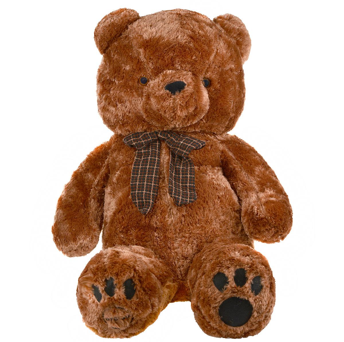 Мягкая игрушка Magic Bear Toys Медведь Бублик, цвет: коричневый, 140 смSAV1224-3Очаровательная мягкая игрушка Magic Bear Toys Медведь Бублик, выполненная из высококачественных нетоксичных материалов в виде медвежонка коричневого цвета с бантиком на шее, вызовет умиление и улыбку у каждого, кто ее увидит. Удивительно мягкая игрушка принесет радость и подарит своему обладателю мгновения нежных объятий и приятных воспоминаний. Великолепное качество исполнения делают эту игрушку чудесным подарком к любому празднику.