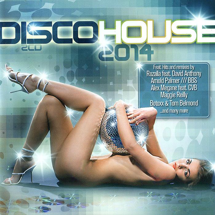 Disco House 2014 (2 CD) 2 Audio CD