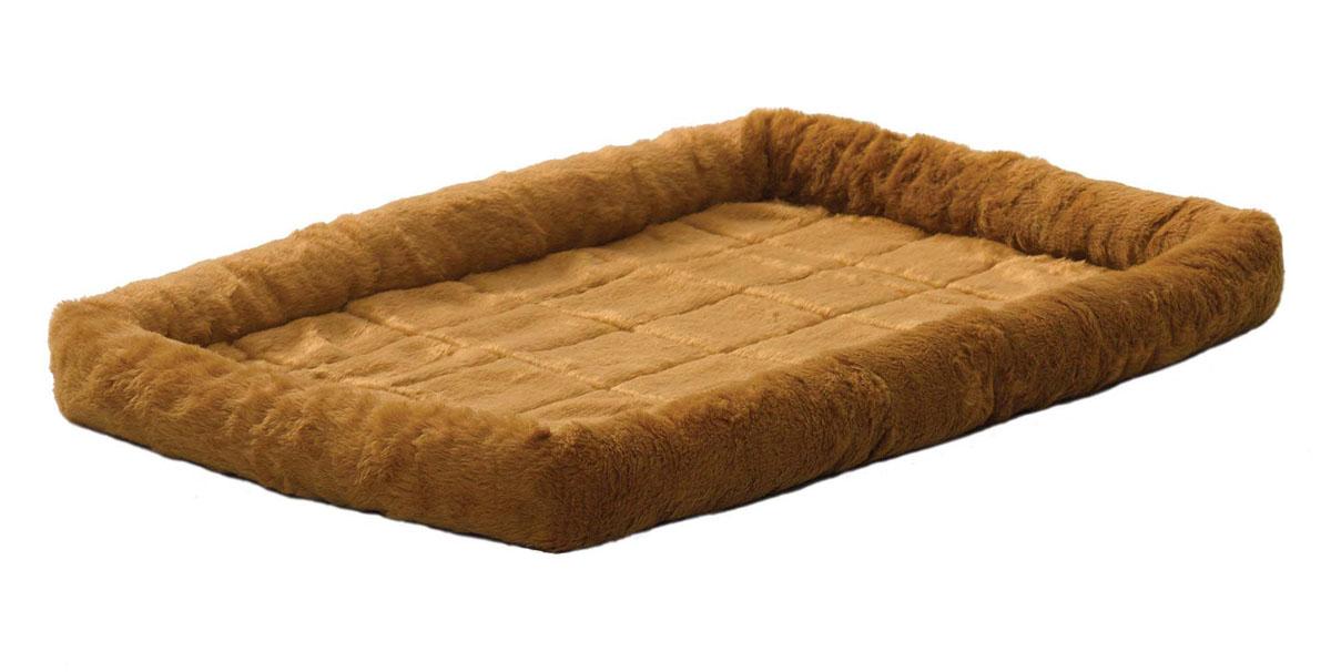 """Лежанка для животных Midwest """"Quiet Time"""", цвет: светло-коричневый, 91 см х 58 см"""