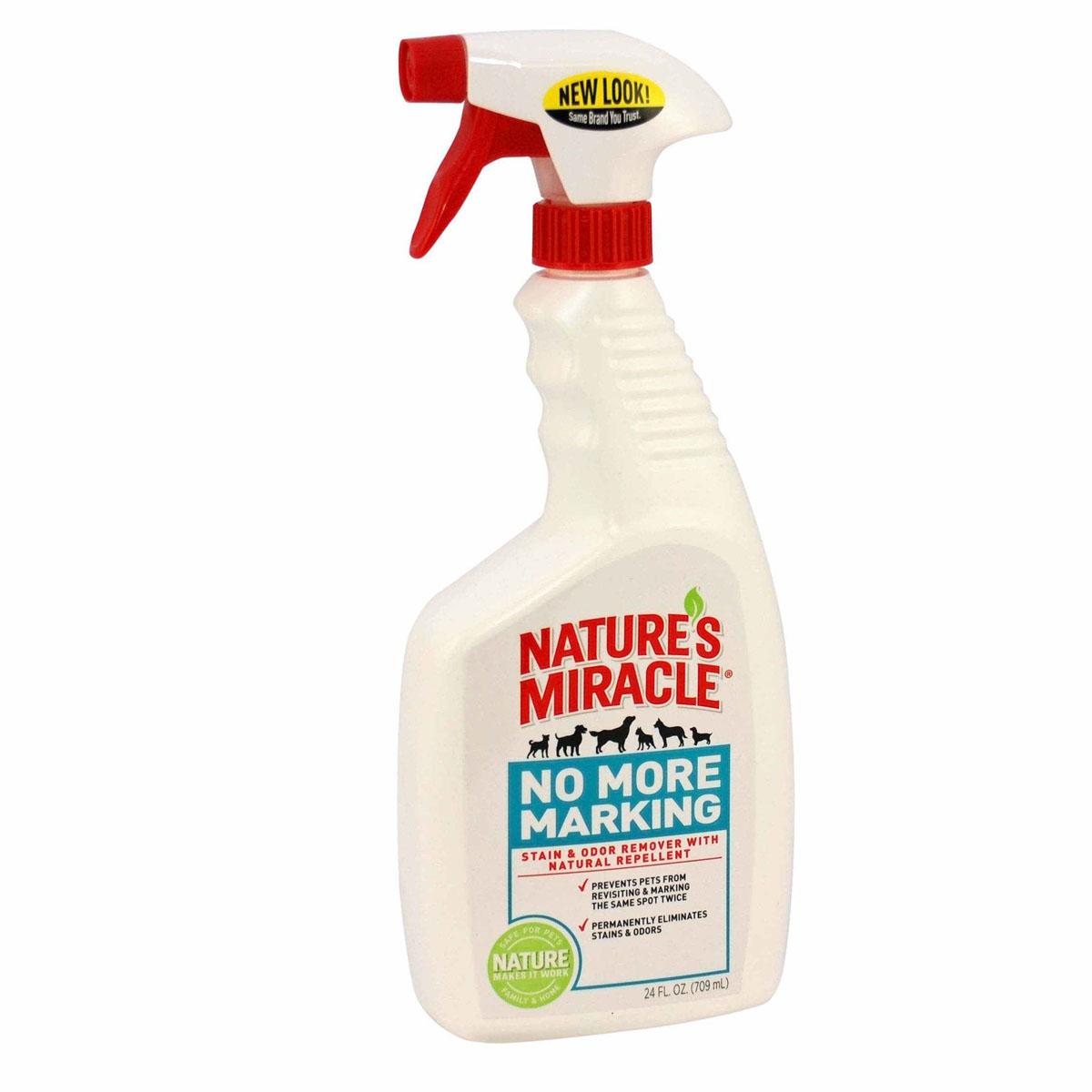 """Спрей 8 in 1 """"Nature's Miracle"""", для уничтожения запахов и пятен, против повторных меток, 709 мл"""