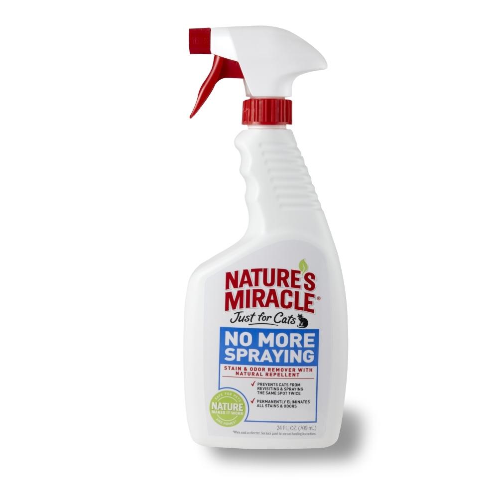 Средство-антигадин для кошек 8 in 1 Natures Miracle, 710 мл5057815Средство-антигадин для кошек 8 in 1 Natures Miracle специально разработано для того, чтобы отучить вашу кошку от привычки оставлять повторные метки, а также, чтобы удалить загрязнения, оставленные кошкой. Формула быстро начинает работать для того, чтобы полностью устранить органические пятна и запахи, оставляя после себя естественный аромат лимона и корицы. Эти запахи инстинктивно не нравятся кошкам, и они предпочитают обходить их стороной. Средство идеально отучает кошку от раздражающей вас привычки и может использоваться на коврах, твердых поверхностях, в спальне и т.д. Внимание! Перед использованием обязательно протестируйте небольшой участок поверхности на цветоустойчивость. Хранить в местах недоступных для детей. Способ применения: Перед применением хорошо встряхнуть, не разводить! Для предупреждения повторных меток: тщательно смочите средством запачканную поверхность, оставьте на пять минут, вытрите салфеткой. При необходимости...