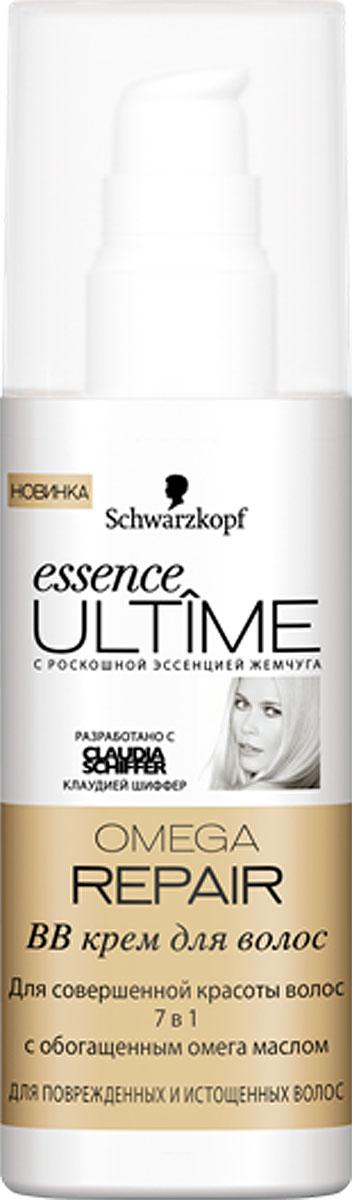 Essence Ultime BB-крем Omega Repair, для поврежденных и истощенных волос, 100 мл9263062BB-крем Essence Ultime Omega Repair предназначен для поврежденных и истощенных волос. Для совершенной красоты волос 7 в 1 с обогащенным омега маслом: 1. Уход и восстановление 2. Контроль над сечением 3. Легкое расчесывание 4. Блеск и эластичность 5. Упругость и сила 6. Увлажнение 7. Без утяжеления.
