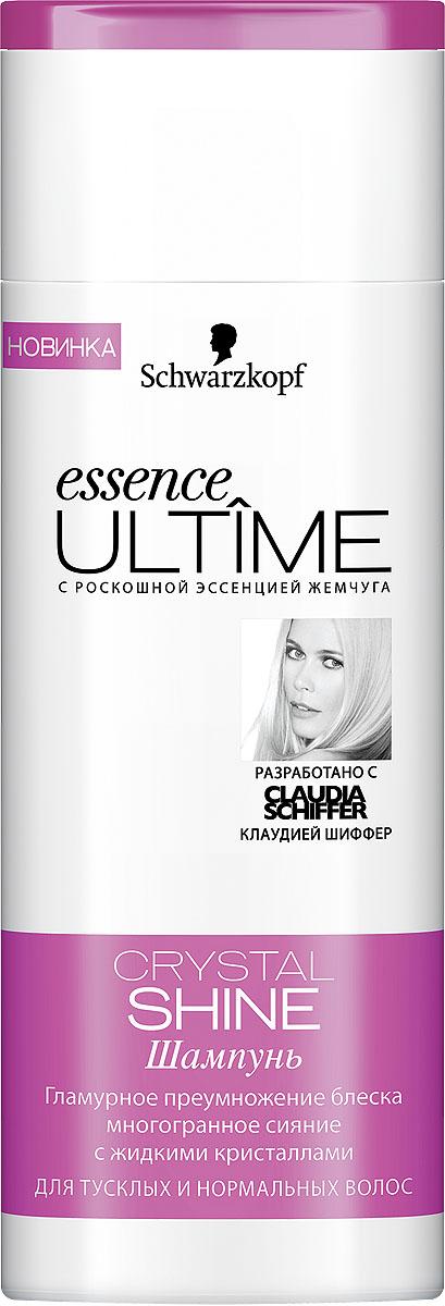 Essence Ultime Шампунь Crystal Shine, для тусклых и нормальных волос, 250 мл (Essence ULTIME)