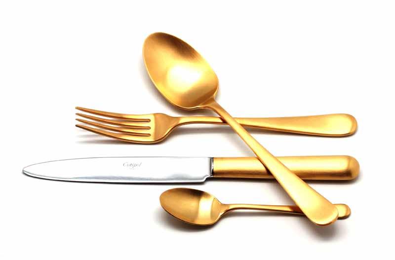 Набор столовых приборов Atlantico Gold мат. набор 24 предмета 920292029202 ATLANTICO GOLD мат. Набор 24 пр. Характеристики: Материал: сталь. Размер: 405*295*65мм. Артикул: 9202.