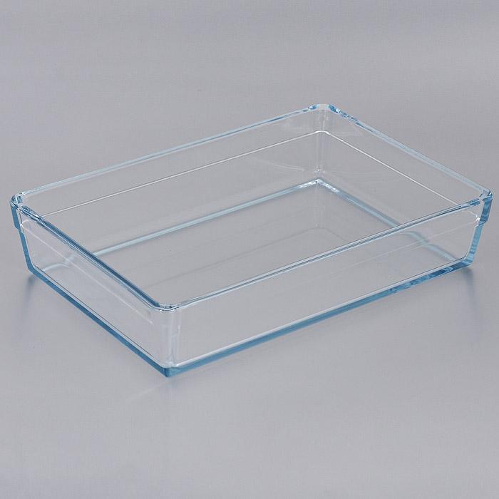 Лоток для СВЧ Pasabahce Borcam Premium, прямоугольный, 28,5 см х 19,5 см. 5932459324Прямоугольный лоток для СВЧ Pasabahce Borcam Premium выполнен из жаропрочного стекла. Стекло - самый безопасный для здоровья материал. Посуда из стекла не вступает в реакцию с готовящейся пищей, а потому не выделяет никаких вредных веществ, не подвергается воздействию кислот и солей. Из-за невысокой теплопроводности пища в ней гораздо медленнее остывает. Стеклянная посуда очень удобна для приготовления и подачи самых разнообразных блюд: супов, вторых блюд, десертов. Благодаря прозрачности стекла, за едой можно наблюдать при ее готовке, еду можно видеть при подаче, хранении. Используя такую посуду, вы можете как приготовить пищу, так и изящно подать ее к столу, не меняя посуды. Благодаря гладкой идеально ровной поверхности посуда легко моется. Можно использовать в духовках, микроволновых печах и морозильных камерах (выдерживает температуру от - 30°C до 300°C). Можно мыть в посудомоечной машине. Характеристики: Материал: жаропрочное стекло. ...