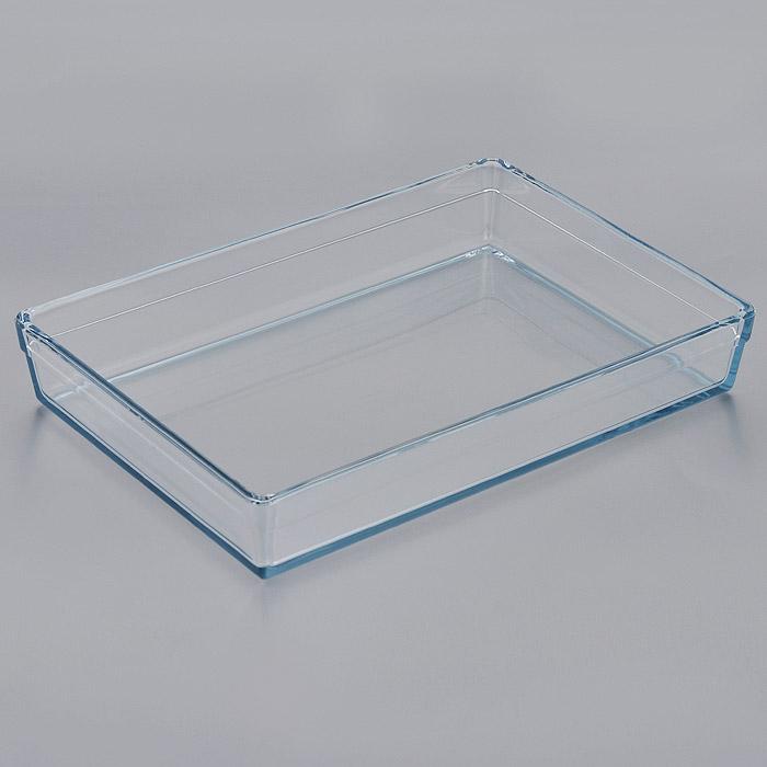 Лоток для СВЧ Pasabahce Borcam Premium, прямоугольный, 36,5 х 25,5 см 5933459334Прямоугольный лоток для СВЧ Pasabahce Borcam Premium выполнен из жаропрочного стекла. Стекло - самый безопасный для здоровья материал. Посуда из стекла не вступает в реакцию с готовящейся пищей, а потому не выделяет никаких вредных веществ, не подвергается воздействию кислот и солей. Из-за невысокой теплопроводности пища в ней гораздо медленнее остывает. Стеклянная посуда очень удобна для приготовления и подачи самых разнообразных блюд: супов, вторых блюд, десертов. Благодаря прозрачности стекла, за едой можно наблюдать при ее готовке, еду можно видеть при подаче, хранении. Используя такую посуду, вы можете как приготовить пищу, так и изящно подать ее к столу, не меняя посуды. Благодаря гладкой идеально ровной поверхности посуда легко моется. Можно использовать в духовках, микроволновых печах и морозильных камерах (выдерживает температуру от - 30°C до 300°C). Можно мыть в посудомоечной машине. Характеристики: Материал: жаропрочное стекло. ...