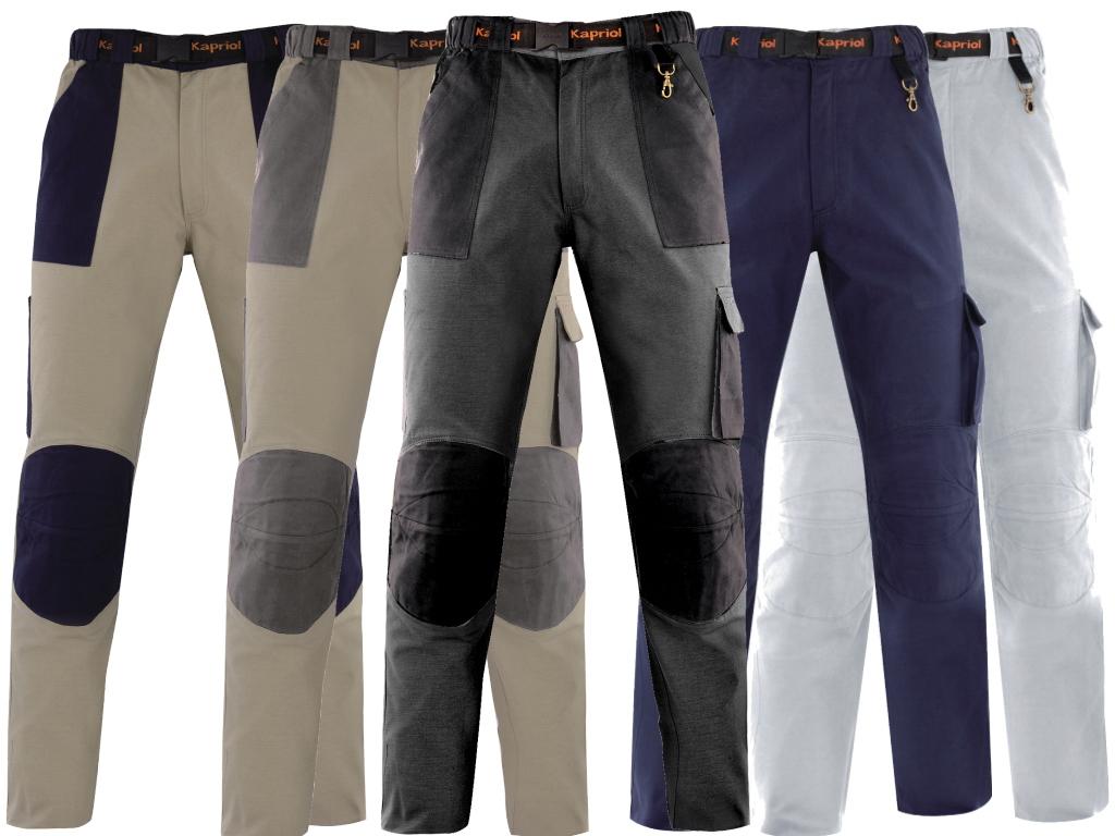 Рабочие брюки Kapriol Kavir, цвет: бежевый. 31334. Размер XXL