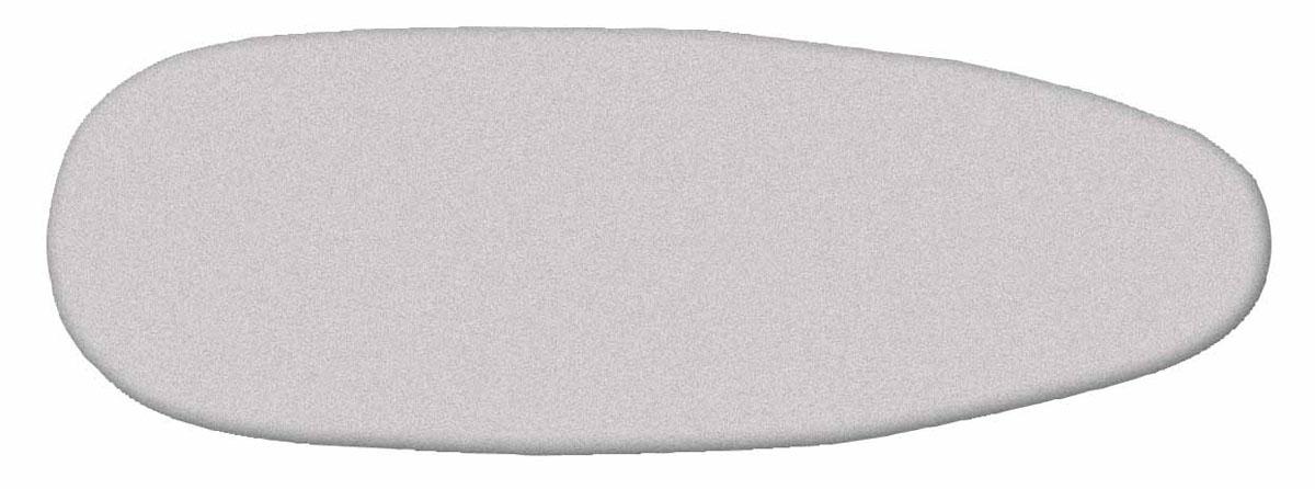 Чехол Rayen для гладильной доски, 53 см х 130 см37002014Универсальный хлопчатобумажный чехол с плотной поролоновой подкладкой покрыт титановым слоем и пеной полиуретана, что достигается пропиткой титанодиоксидным раствором. Подобная обработка материала дает ряд преимуществ по сравнению с обычными чехлами. упрочняется хлопчатобумажная ткань чехла, что увеличивает срок службы, улучшается скольжение утюга, титановый слой быстро нагревается от утюга и отражает накопленное тепло с обратной стороны проглаживаемой ткани, что позволяет гладить вещи только с одной стороны. Чехол фиксируется на доске при помощи стягивающего шнура. Металлизированная ткань отражает тепло и выдерживает температуру до +200 градусов. Эффект обратного отпаривания. Чехол стирать только ручной стиркой при температуре не более +40 градусов. Характеристики: Материал: хлопок. Размер чехла: 53 см х 130 см. Производитель: Испания. Цвет: серебристый.