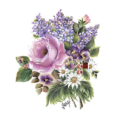 Трансфер универсальный Букет малый-розовая роза, сирень и ромашки, 4 изображения, 17 х 25 см G-22G-22Трансфер универсальный Букет малый-розовая роза, сирень и ромашки предназначен для имитации декоративной росписи при оформлении интерьера. Добавьте оригинальность вашему интерьеру с помощью яркого изображения. Оригинальное исполнение добавит изысканности в дизайн. Трансфер прост в применении. В комплекте подробная инструкция.