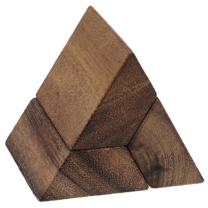 Головоломка Qiddycome Пирамида Хафры, 3 частиIQ503Головоломка Qiddycome Пирамида Хафры - это оригинальная занимательная игрушка, которая не позволит вам скучать. Она выполнена из дерева и состоит из трех одинаковых частей. Задача головоломки - собрать из элементов пирамиду. В комплект с головоломкой входит инструкция на русском языке. Головоломка - прекрасный подарок для детей и взрослых. Можно сказать, что это многофункциональный тренажер, стимулирующий одновременно логику, пространственное мышление и мелкую моторику рук. Головоломка еще и прекрасный антистресс, помогающий отвлечься от суеты или скоротать время в ожидании. Вы можете размышлять над головоломкой в одиночку, а можете обратиться к коллективному разуму своих друзей. Выбирайте головоломки себе по вкусу, устраивайте соревнования по поиску верного решения!