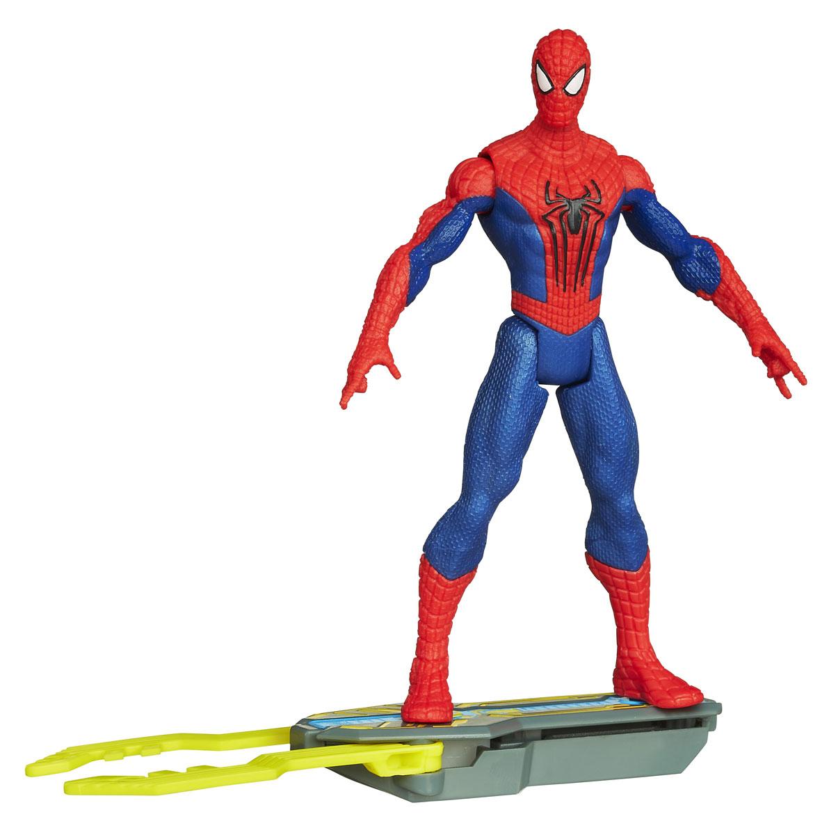 Фигурка Spider-man Spider Strike, 10,5 см. A5700_А5702A5700E27_3Фигурка Spider-man Spider Strike станет прекрасным подарком для вашего ребенка. Она выполнена из прочного яркого пластика в виде знаменитого супергероя - Человека-паука. Голова, руки и ноги фигурки подвижны, что позволит придавать Человеку-пауку различные позы. В комплект также входит его грозное оружие со встроенным магнитом, раскладывающееся при прикосновении к ноге фигурки. Ваш ребенок будет часами играть с этой фигуркой, придумывая различные истории с участием любимого героя. Человек-паук - супергерой, получивший суперсилу, увеличенную ловкость, паучье чутье, а также способность держаться на отвесных поверхностях и выпускать паутину из рук. Теперь он готов наказать злодеев, которые покушаются но покой его родного города!