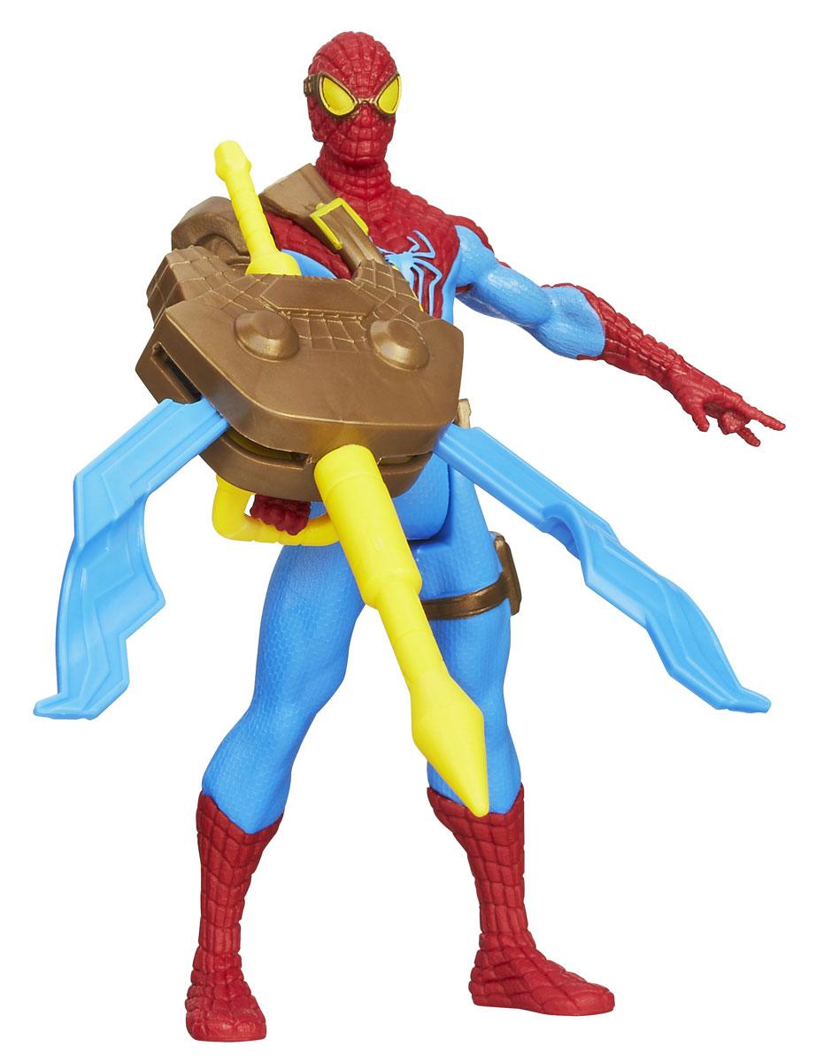 Фигурка Spider-Man Spider Strike. Spider-Man, с аксессуаром, 9,5 см. А5704A5704Фигурка Spider-Man Spider Strike. Spider-Man станет прекрасным подарком для вашего ребенка. Она выполнена из прочного пластика в виде знаменитого супергероя Человека-Паука из основанного на комиксах боевика The Amazing Spider-Man 2 (Новый Человек-Паук. Высокое напряжение). Голова, руки и ноги фигурки подвижны, что позволит придавать ей различные позы. В комплект также входит грозное раскладывающееся оружие, которое крепится к руке супергероя при помощи магнита. Ваш ребенок будет часами играть с этой фигуркой, придумывая различные истории с участием любимого героя. Человек-Паук - супергерой, получивший суперсилу, увеличенную ловкость, паучье чутье, а также способность держаться на отвесных поверхностях и выпускать паутину из рук. Теперь он готов наказать злодеев, которые покушаются но покой его родного города! УВАЖАЕМЫЕ КЛИЕНТЫ! Обращаем ваше внимание на возможные незначительные изменения в дизайне упаковки.