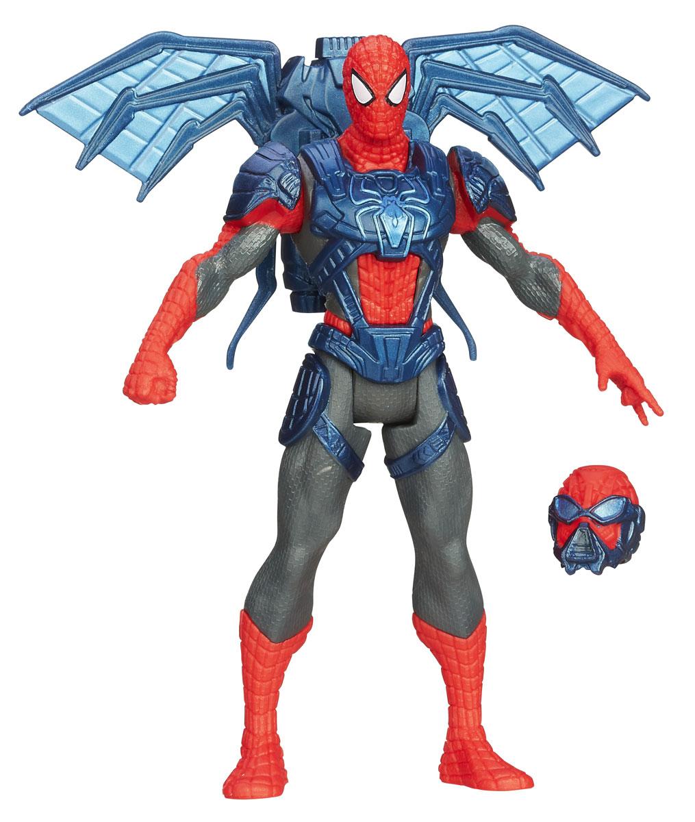 Фигурка Spider-man Spider Strike, 10,5 см. A5700_7084A5700E27_6Фигурка Spider-man Spider Strike станет прекрасным подарком для вашего ребенка. Она выполнена из прочного яркого пластика в виде знаменитого супергероя - Человека-Паука. Голова, руки и ноги фигурки подвижны, что позволит придавать Человеку-Пауку различные позы. В комплект также входят шлем и крылья со встроенным магнитом, раскладывающееся при закреплении на спине. Ваш ребенок будет часами играть с этой фигуркой, придумывая различные истории с участием любимого героя. Человек-Паук - супергерой, получивший суперсилу, увеличенную ловкость, паучье чутье, а также способность держаться на отвесных поверхностях и выпускать паутину из рук. Теперь он готов наказать злодеев, которые покушаются но покой его родного города! УВАЖАЕМЫЕ КЛИЕНТЫ! Обращаем ваше внимание на возможные незначительные изменения в дизайне упаковки.