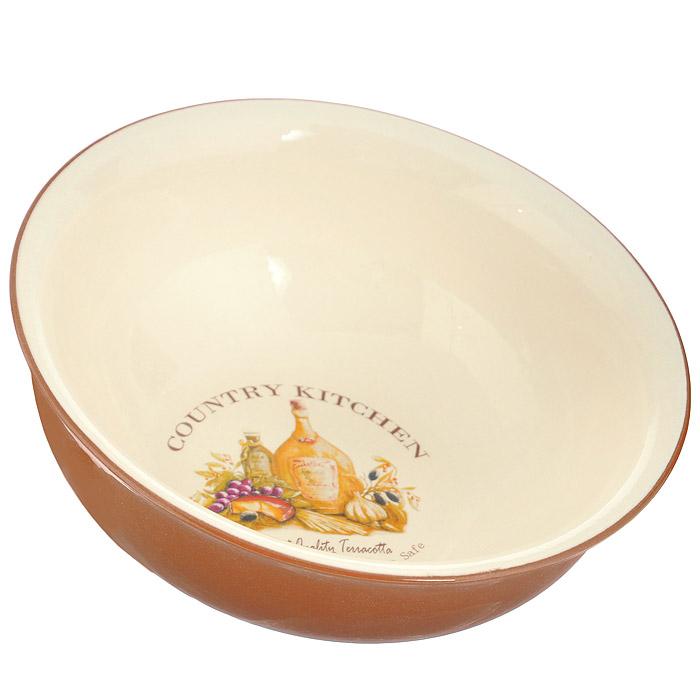 Салатник Terracotta Сардиния, диаметр 17 смTLY308-5-BT-ALСалатник Terracotta Сардиния изготовлен из жаропрочной керамики и покрыт высококачественной глазурью. Он способен не только украсить ваш дом, но так же пополнить вашу коллекцию. Салатник идеально подходит для выпечки, приготовления различных блюд и разогревания пищи в духовом шкафу или микроволновой печи. Может использоваться для хранения продуктов, в том числе в холодильнике.