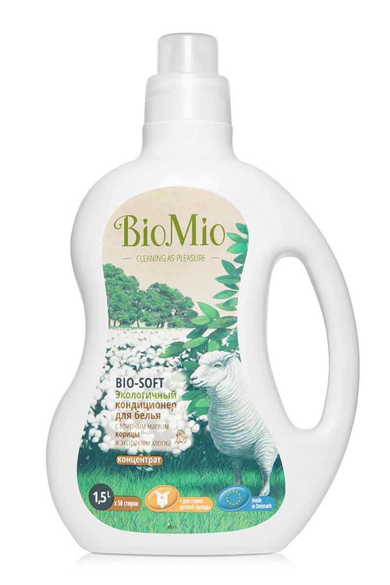 Экологичный кондиционер для белья BioMio, с эфирным маслом корицы и экстрактом хлопка, 1,5 лКК-249Экологичный кондиционер для белья BioMio оказывает эффективное и безопасное действие на волокна ткани. Экстракт хлопка придает мягкость и нежность белью после стирки. Облегчает глажку белья и обладает антистатическим эффектом. Концентрированная формула обеспечивает экономичный расход. Безопасен для планеты. Аромат эфирного масла корицы согревает, умиротворяет и вдохновляет. Не содержит: фосфаты, агрессивные ПАВ, SLS/SLES, ПЭГ, хлор, нефтепродукты, искусственные ароматизаторы и красители. BioMio - линейка эффективных средств для дома, использование которых приносит только удовольствие. Уборка помогает не только очистить и гармонизировать свое пространство, но и себя, свои мысли, поэтому важно ее делать с радостью. Средства, созданные с любовью и заботой, помогут в этом и идеально справятся с загрязнениями, оставаясь при этом абсолютно безопасными и экологичными. Благодаря действию натуральных эфирных масел, они поднимут настроение и подарят...