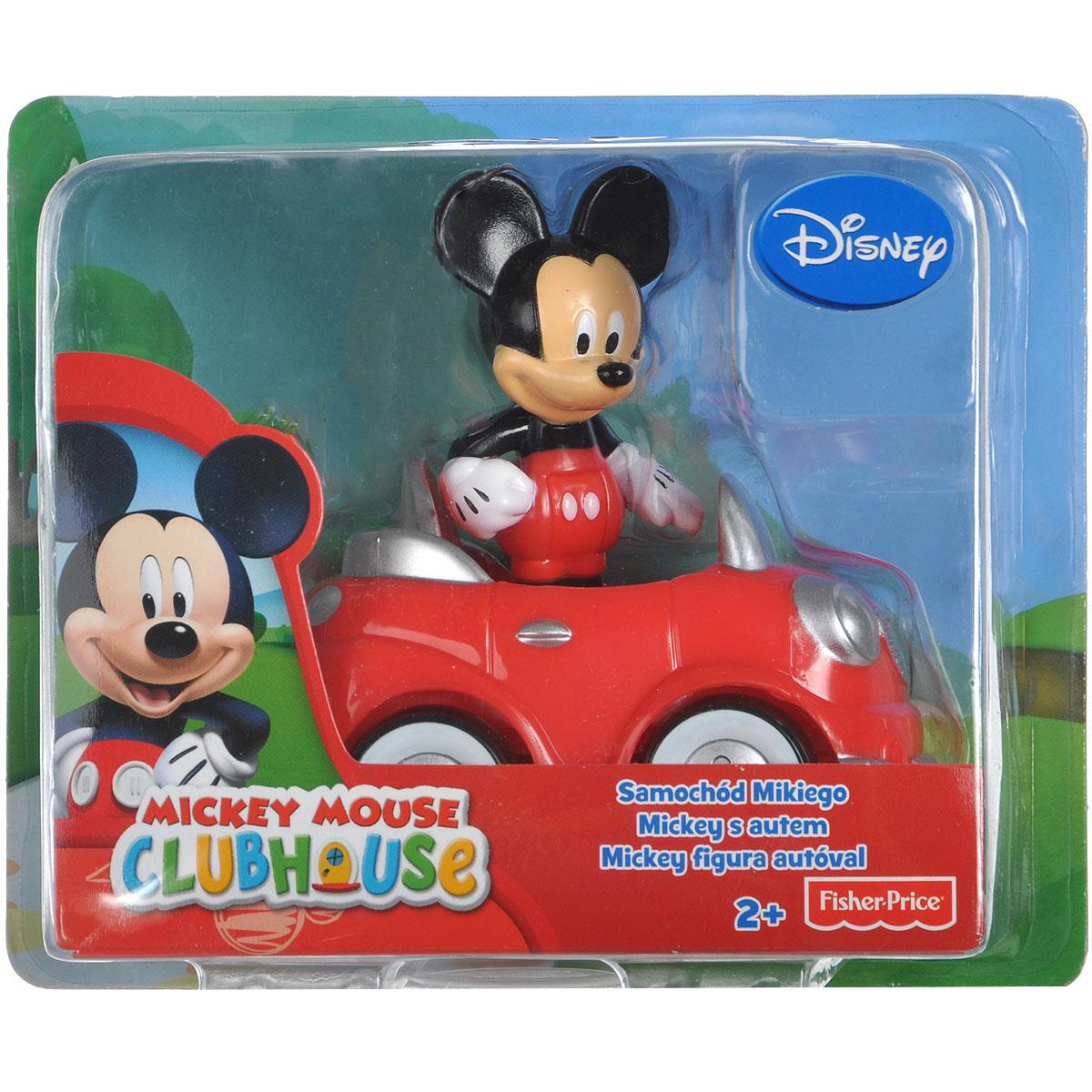 Mickey Mouse Игровой набор Машинка: Автомобиль МиккиT6291/T3218Игровой набор Mickey Mouse Машинка: Автомобиль Микки привлечет внимание вашего малыша и не позволит ему скучать. Набор включает в себя фигурку Микки и автомобиль красного и серебристого цветов. Ваш ребенок часами будет играть с набором, придумывая разные истории. Порадуйте его таким замечательным подарком!