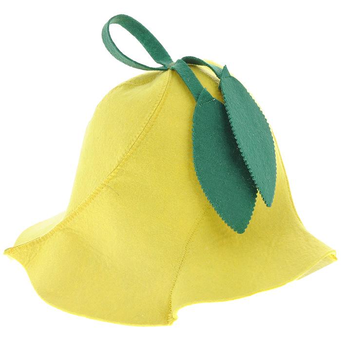 Шапка для бани и сауны Доктор баня Вьюнок, цвет: желтый905245Шапка для бани и сауны Доктор баня Вьюнок изготовлена из фильца (100% полиэстер) - нетканого полотна. Это незаменимый аксессуар для любителей попариться в русской бане и для тех, кто предпочитает сухой жар финской бани. Необычный дизайн изделия поможет сделать ваш отдых приятным и разнообразным, к тому же шапка защитит вас от головокружения в парилке, ваши волосы - от сухости и ломкости, а голову - от перегрева. Такая шапка станет отличным подарком для любителей отдыха в бане или сауне. Диаметр основания шапки: 31 см. Высота шапки: 26 см.