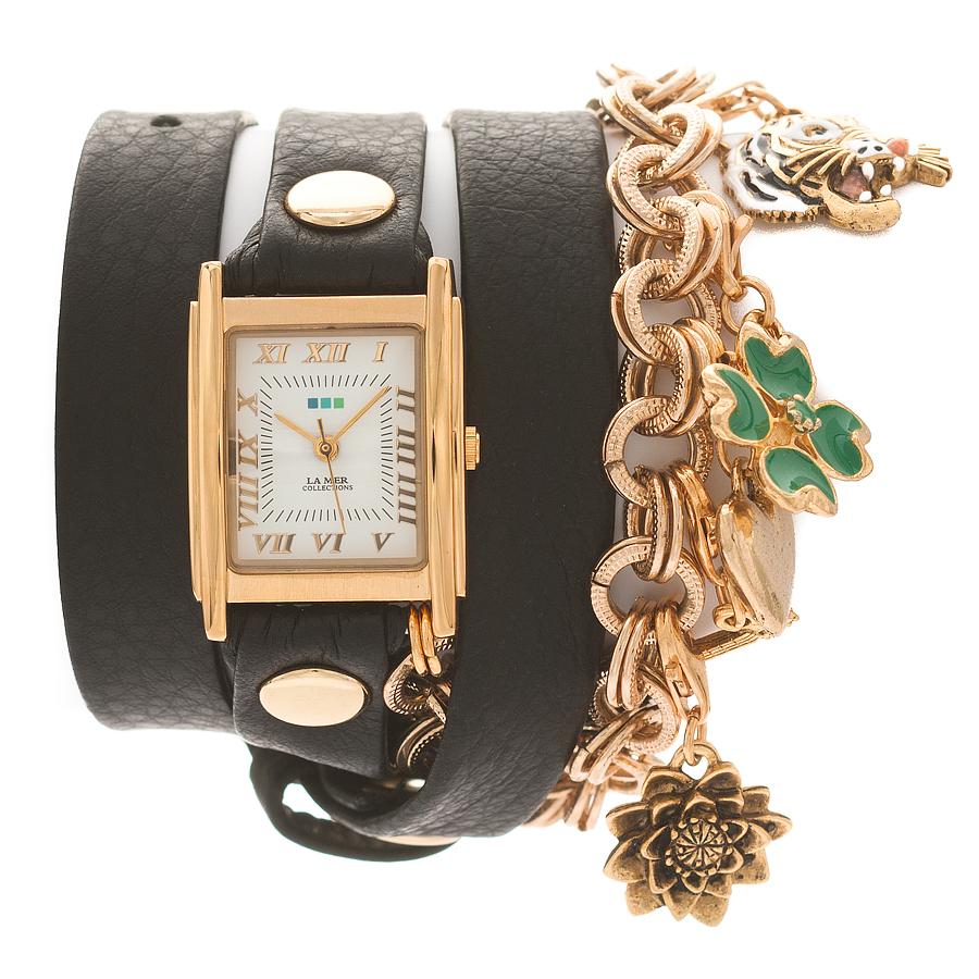 Zakazat.ru: Часы наручные женские La Mer Collections Charm Lucky Black. LMCHARM001B