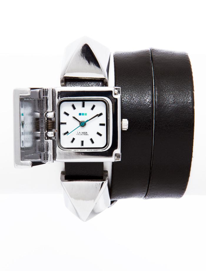 Zakazat.ru: Часы женские наручные La Mer Collections Pyramid Cairo Black Silver. LMPYRAMID002