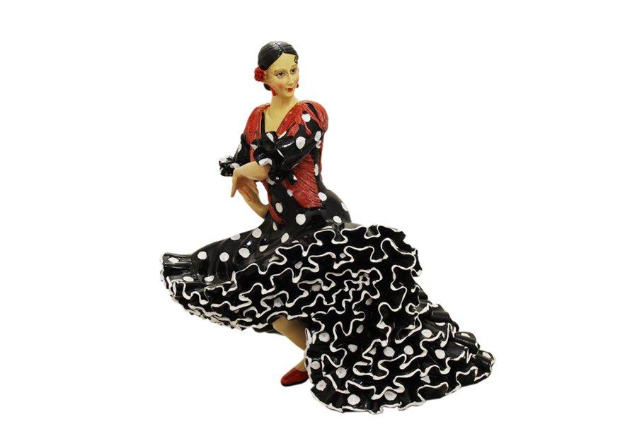 Статуэтка Barcino Танцовщица, высота 19 смBAR24037ALОчаровательная статуэтка Barcino Танцовщица станет оригинальным подарком для всех любителей стильных вещей. Она выполнена из полистоуна в черно- красных тонах, в виде танцующей девушки в платье с принтом в горох. Изысканный сувенир станет прекрасным дополнением к интерьеру. Вы можете поставить статуэтку в любом месте, где она будет удачно смотреться, и радовать глаз.