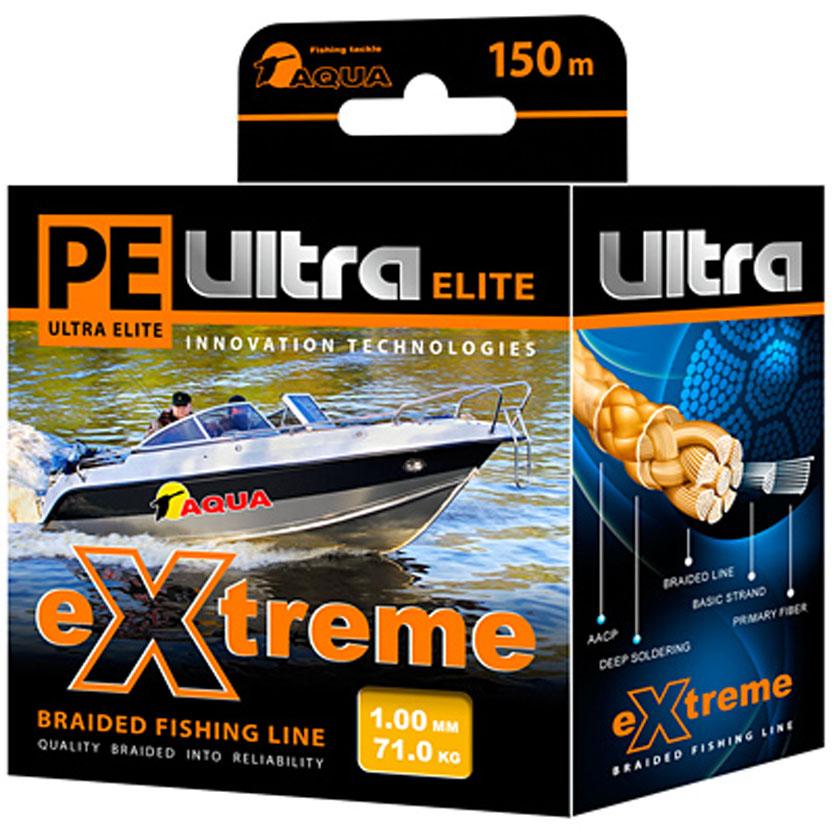 �������� ���� Aqua PE Ultra Elite Extreme, ����: ������, ������� 1 ��, ����� 150 � - Aqua121205����� ��������� ������ PE ULTRA ELITE EXTREME ��� ������������� ������� ����������� �� 100% ��������� UHMW PE (������-������������������ ���������������-��������������� ����������). ��� ����� �������� ������� ������ �� ������ ����� ��� ����� �������������� ���������, �� ������� ���� �� �� ����� ����������� � �������� ������ �������, � ����� ������� ���� �� ��������� ������ � ������ �����. PRIMARY FIBER - ��������� ������� ��������� 0,85 �������. BASIC STRAND - �������� ����, ��������� �� 30-160 ��������� �������. BRAIDED LINE - �������� ����, ��������� �� 8 �������� �����. DEEP SOLDERING - ��������������� ������� �������� � ��������. AACP (Anti-Abrasive Coated Protection) - �������� ��������, ���������� ���� �� ������ �������������� ������������� �����������.