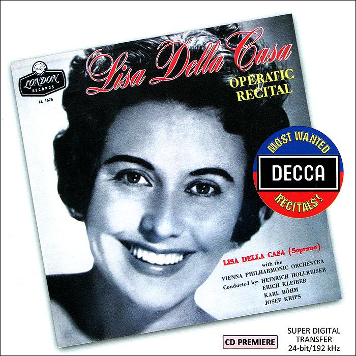 Lisa Della Casa. Operatic Recital