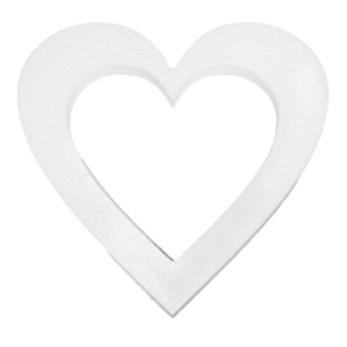 Заготовка из пенопласта Кустарь Сердце-венок. AM600015AM600015Заготовка Кустарь Сердце-венок, выполненная из пенопласта, используется как основа для декупажа, бисероплетения, квиллинга и т.д. Техника декупажа: Пенопласт обязательно надо грунтовать, затем шкурить, красить, потом непосредственно декупаж и лакировка. Грунтовать гипсовой смесью. Грунтовка предотвратит впитываемость краски, разбухание и деформацию предмета из пенопласта. Обработанный таким путем, он прослужит вечно. Не грунтуйте пенопласт ПВА.