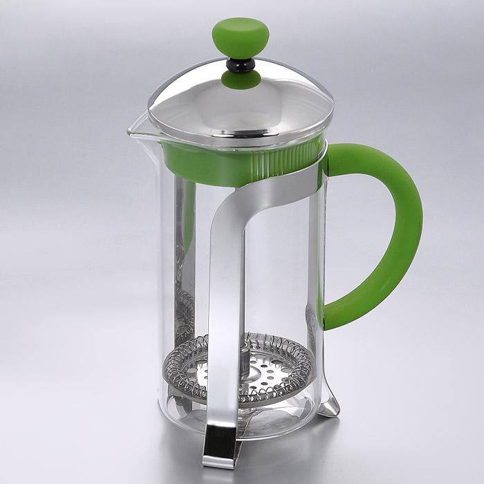 "Заварник френч-пресс ""Mayer & Boch"", цвет: зеленый, 350 мл. MN23222"