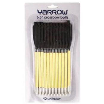 Набор стрел для арбалета Yarrow, алюминиевые, цвет: золотистый, 12 шт, 16 см