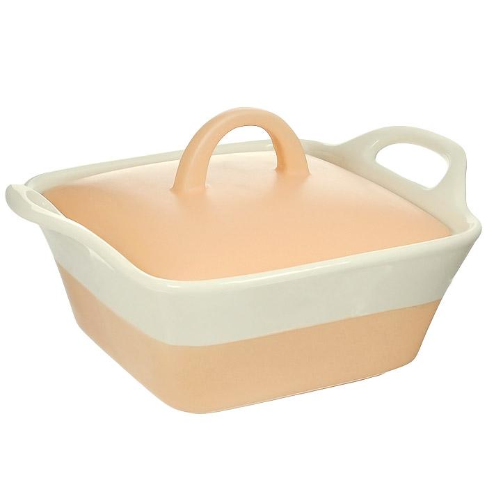 Кастрюля керамическая Mayer & Boch с крышкой, цвет: оранжевый, бежевый, 680 мл. MN21807MN21807Кастрюля Mayer & Boch изготовлена из жаропрочной керамики, покрытой цветной глазурью. Керамическая посуда считается не только изысканной, но еще и полезной, так как изготавливается из экологически чистой красной глины, без химических добавок. За счет этого пища сохраняет полезные свойства и витамины, а также приобретает бесподобный вкус и аромат. Жаропрочная керамика обладает высокой прочностью и долгим сроком службы, она равномерно распределяет тепло и сохраняет первоначальный вкус продуктов. Гладкая, идеально ровная поверхность легко чистится. Кастрюля оснащена удобными ручками и крышкой, плотно прилегающей к стенкам посуды. Можно использовать на газовой и электрической плите, в микроволновой печи и духовом шкафу. Можно мыть в посудомоечной машине.