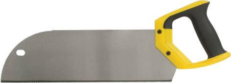 Пила обушковая FIT с запилом, длина 35 см41284Ножовка по дереву FIT предназначена для пиления древесины мягких и твердых пород, фанеры, ДСП, ПХВ. Имеет удобную пластиковую ручку. Ножовочное полотно для быстрого пиления вдоль и поперек волокон древесины. 2D-заточка и высокочастотная закалка зубьев