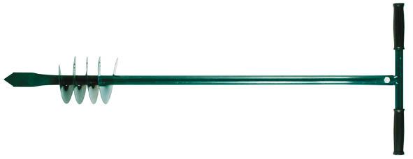 Бур ручной FIT, для почвы, 85 см77240Ручной шнековый бур FIT - это инструмент для бурения скважин и цилиндрических отверстий в грунте. Применяется в саду, огороде и на строительных площадках. Бур изготовлен из инструментальной стали, поэтому отличается прочностью и долгим сроком службы.