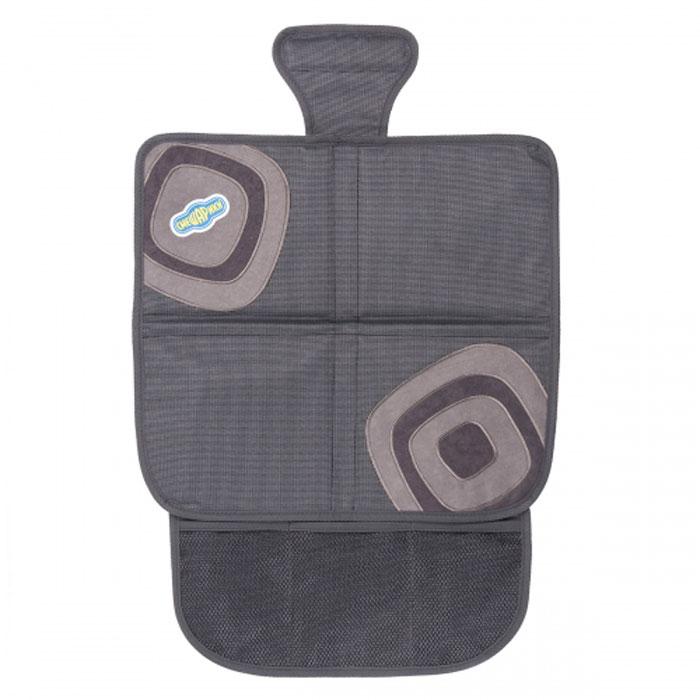 Защитная накидка под бустер Смешарики, цвет: серыйSM/COV-010 GY/GYОригинальная накидка позволяет использовать бустер, не испортив автомобильное сиденье. Прочный материал защищает от вмятин, дырок и загрязнений. Для более надежной фиксации в накидке используется специальный язычок и антискользящее покрытие на тыльной стороне. Яркие веселые рисунки отлично сочетаются с такими же позитивными детскими автокреслами Смешарики. Наличие удобного сетчатого кармана в накидке под детское автокресло делает его более функциональным.