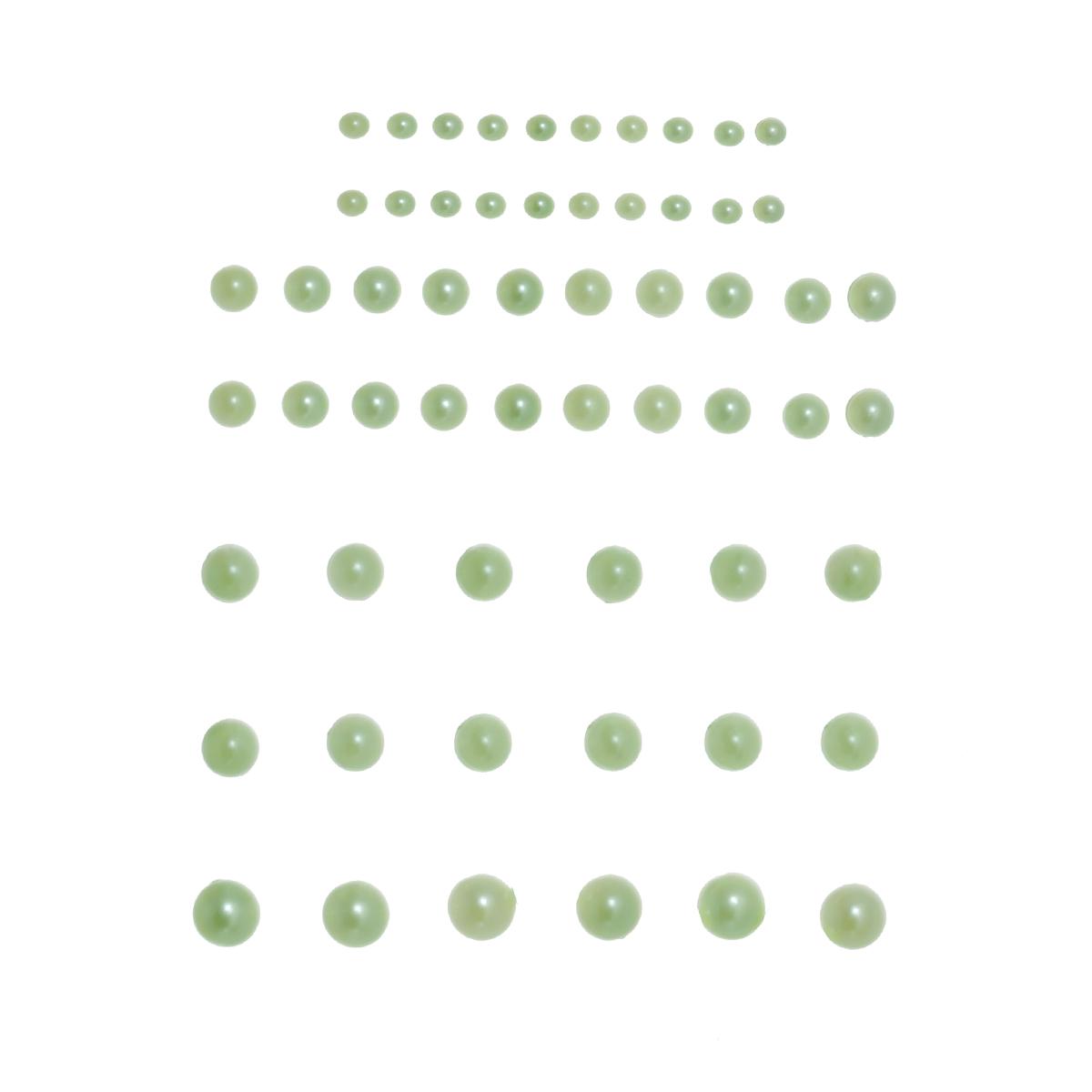Полужемчуг самоклеящийся Craft Premier, цвет: зеленый, 58 шт23317-1Набор Craft Premier состоит из 58 полужемчугов, с помощью которых вы сможете украсить открытку, фотографию, альбом, подарок и другие предметы ручной работы. Полужемчуг в наборе имеет оригинальный и яркий дизайн. На задней стороне полужемчуга - клейкая поверхность. Минимальный диаметр: 0,25 см. Максимальный диаметр: 0,7 см.