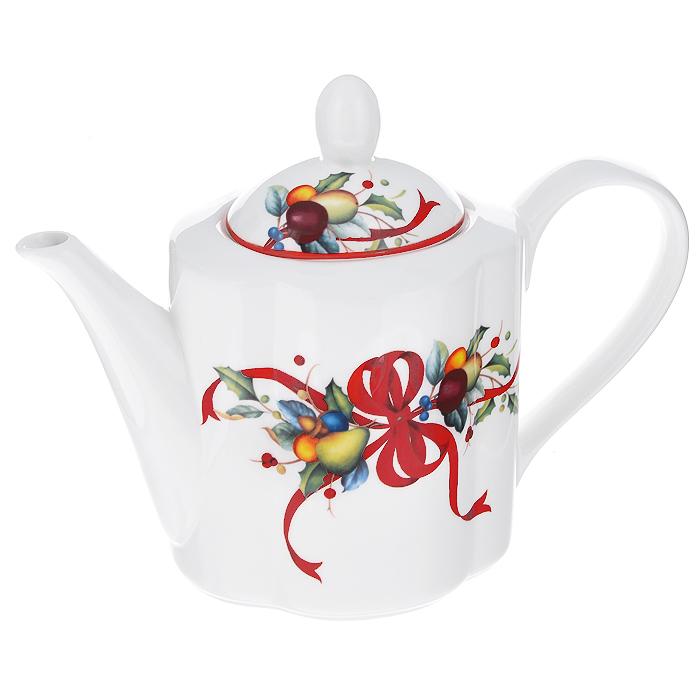 Чайник заварочный Azulejo Espanol Ceramica, 900 мл. 214105214105Заварочный чайник Azulejo Espanol Ceramica, изготовленный из высококачественной керамики, оформлен красочным рисунком. Чайник сочетает в себе стильный дизайн с максимальной функциональностью. Красочность оформления придется по вкусу и ценителям классики, и тем, кто предпочитает утонченность и изысканность. Чайник поможет заварить крепкий ароматный чай и великолепно украсит стол к чаепитию.