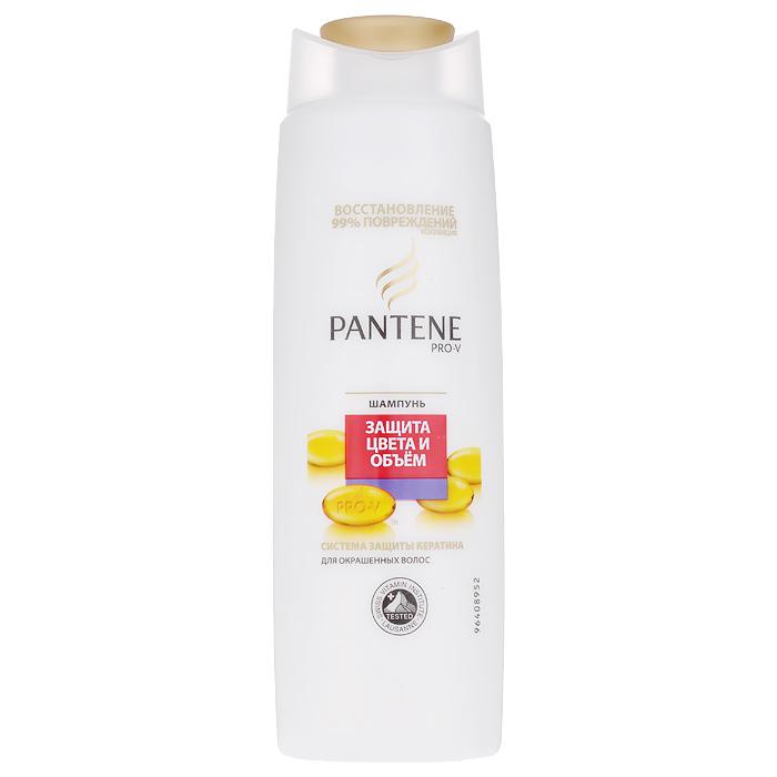 Pantene Pro-V Шампунь Защита цвета и объем, для окрашенных волос, 250 мл