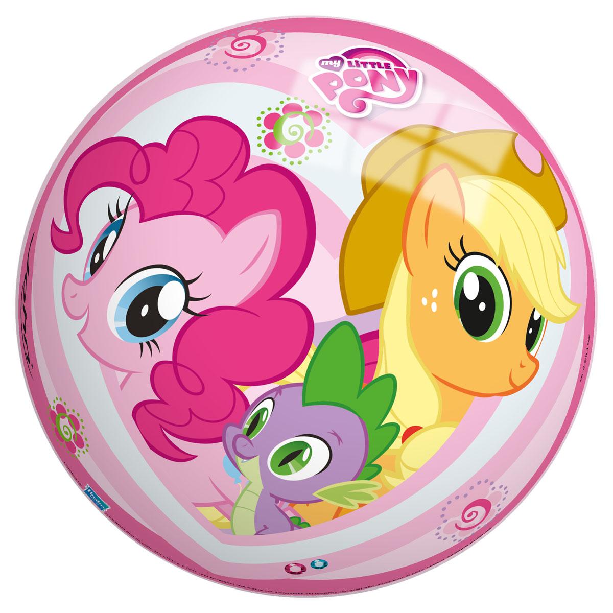 Мяч John Моя маленькая пони, 23 см54034/50034Яркий детский мяч John Моя маленькая пони - это игрушка для детей любого возраста. Он выполнен из ПВХ и оформлен изображением персонажей мультфильма My Little Pony. Мяч незаменим для любителей подвижных игр и активного отдыха, подходит для игр на воде. Игры с мячом развивают координацию движений, способствуют физическому развитию ребенка. УВАЖАЕМЫЕ КЛИЕНТЫ! Просим вас обратить внимание на тот факт, что мяч поставляется в сдутом виде и надувается при помощи насоса (насос не входит в комплект).
