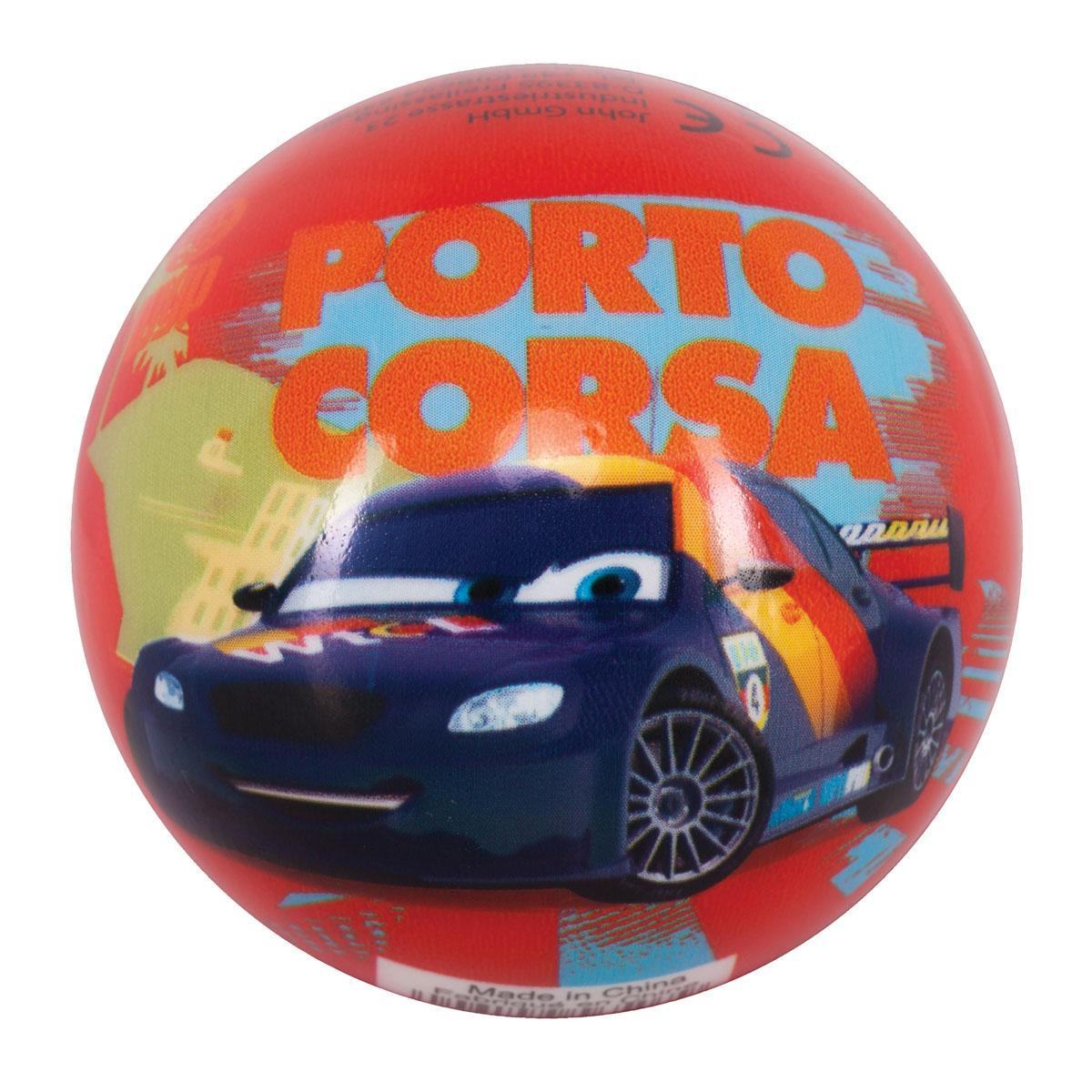 Мяч John Тачки, 7,5 см07WDЯркий детский мяч John Тачки - это игрушка для детей любого возраста. Он выполнен из вспененного полимера и оформлен изображениями персонажей мультфильма Тачки (Cars). Мяч незаменим для любителей подвижных игр и активного отдыха, подходит для игр на воде. Игры с мячом развивают координацию движений, способствуют физическому развитию ребенка.